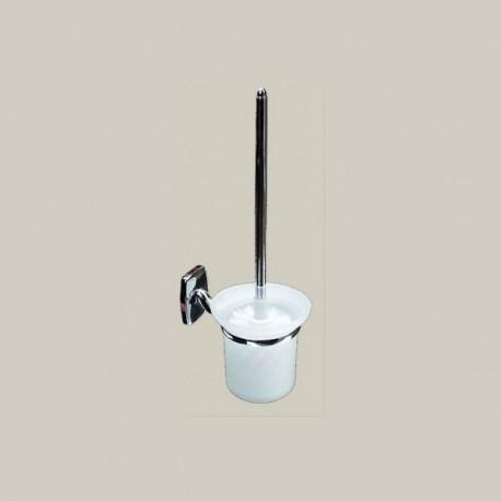 Szczotka WC, mosiądz chromowany, seria TECHNO