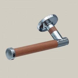 Wieszak na papier toaletowy, elementy drewniane, seria D