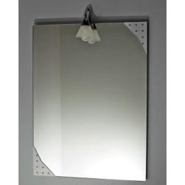 Lustro z oświetleniem LC01, 60x100 cm