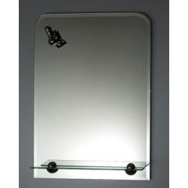 Lustro z oświetleniem LF005 70x50 cm
