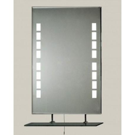 Lustro z podświetlaną taflą 80x60cm LTH-2PD