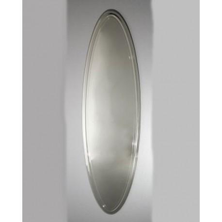 Lustro owalne z ozdobnymi krawędziami 145x42 cm L122
