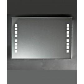 Lustro z podświetlaną taflą 80x60cm LTH-2K