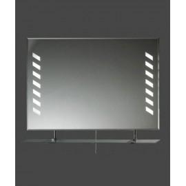 Lustro z podświetlaną taflą + półka szklana LTH-10PK