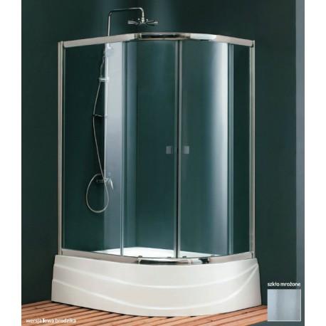 Kabina natryskowa  BIANCA PLUS 120x80 cm