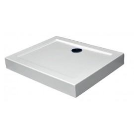 LAMI - brodzik kompaktowy 120x80x14cm, 100x80x14cm