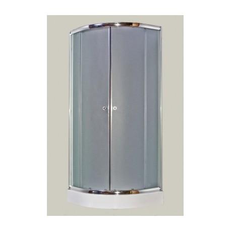 Kabina natryskowa GALATEA 80x80 cm, szkło mgliste